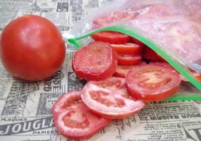 Можно ли замораживать помидоры целиком