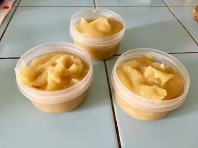 Как заморозить пюре из яблок