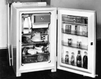 Какие раньше были холодильники