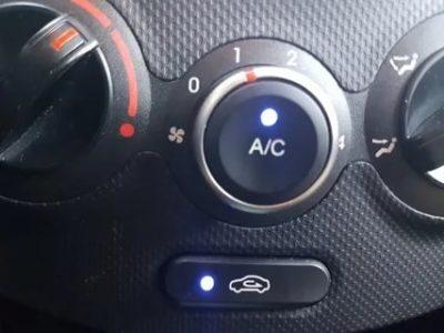 Как отключить кондиционер на Hyundai Solaris