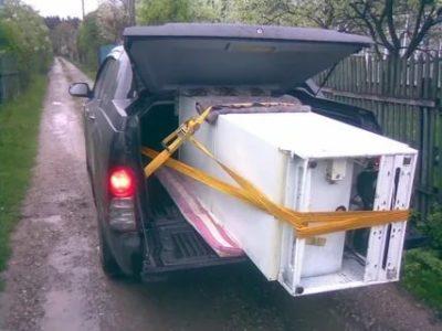 Почему нельзя перевозить холодильник на боку