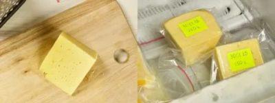 Сколько сыр может храниться в морозилке