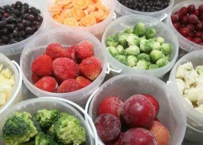 Какие фрукты и ягоды можно замораживать