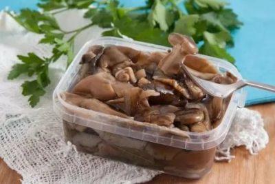 Как заморозить соленые грибы