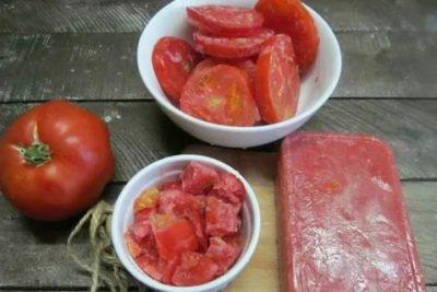 Как заморозить протертые помидоры