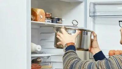 Почему нельзя ставить горячую воду в холодильник