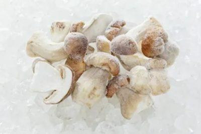 Как правильно заморозить свежие грибы