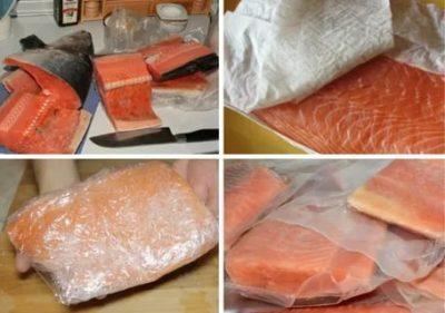 Можно ли соленую рыбу положить в морозилку