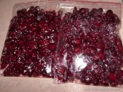 Как заморозить вишню с сахаром на зиму